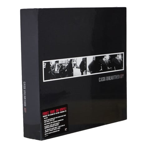 "Bildergebnis für American Recordings: Johnny Cash´s ""Unearthed"" Box, mit 9 LP´s"
