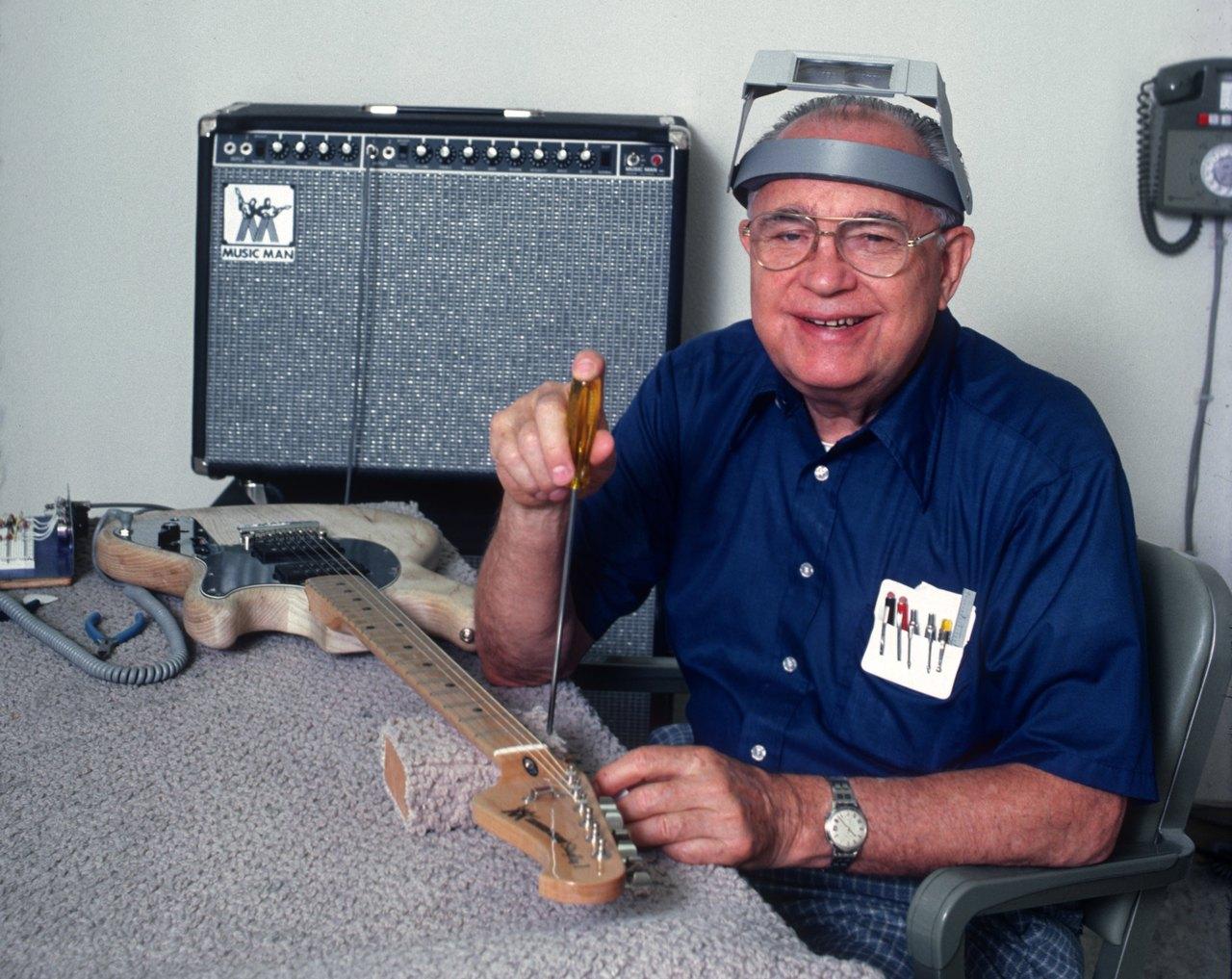Bildergebnis für Leo Fender